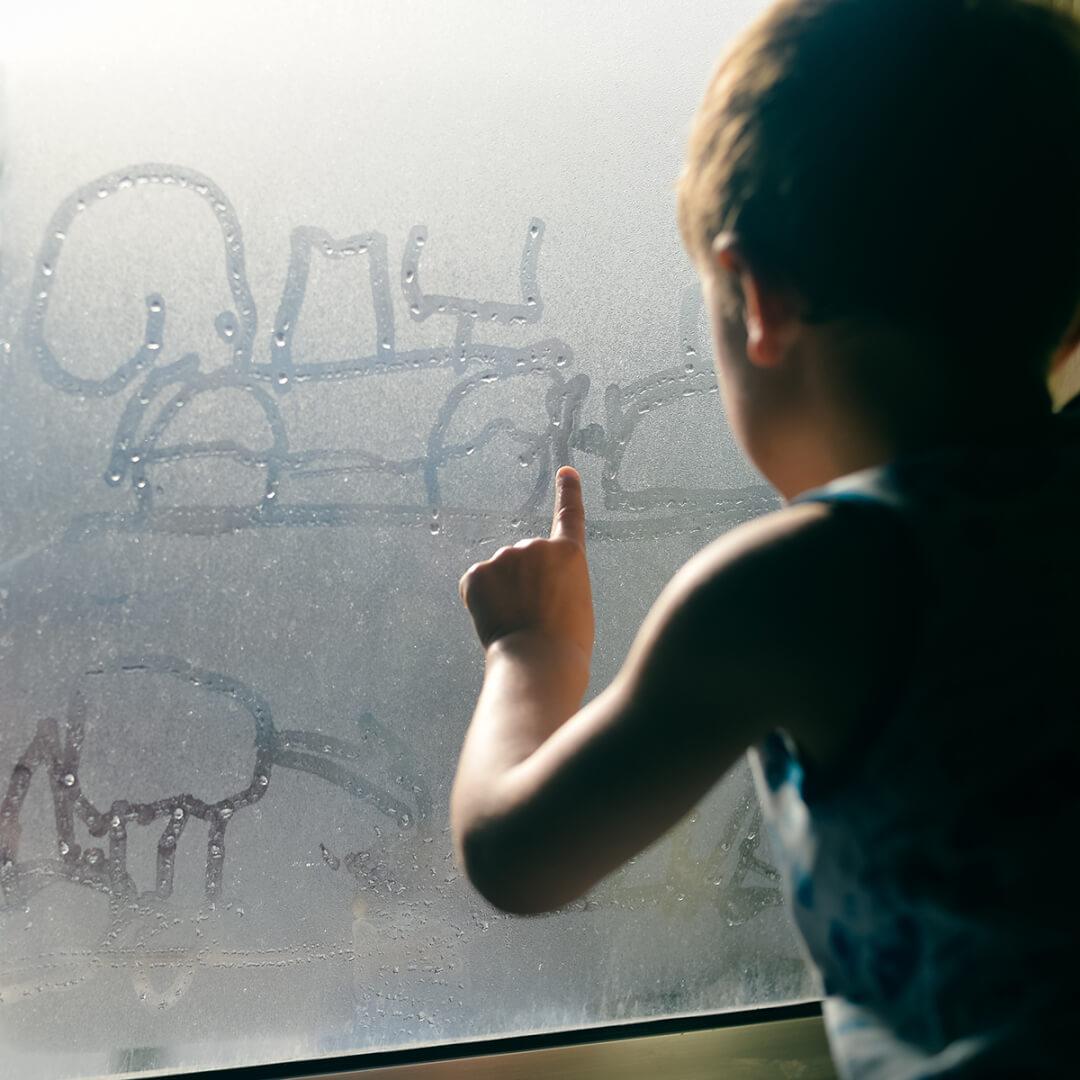 kondens på vinduer